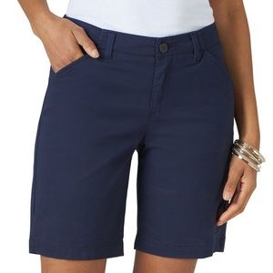 SO | Khaki Bermuda shorts - Navy Blue